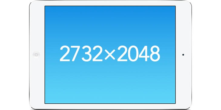 """12,9"""" displej iPadu Pro by měl mít rozlišení 2732 × 2048 pixelů a o 77% větší plochu"""