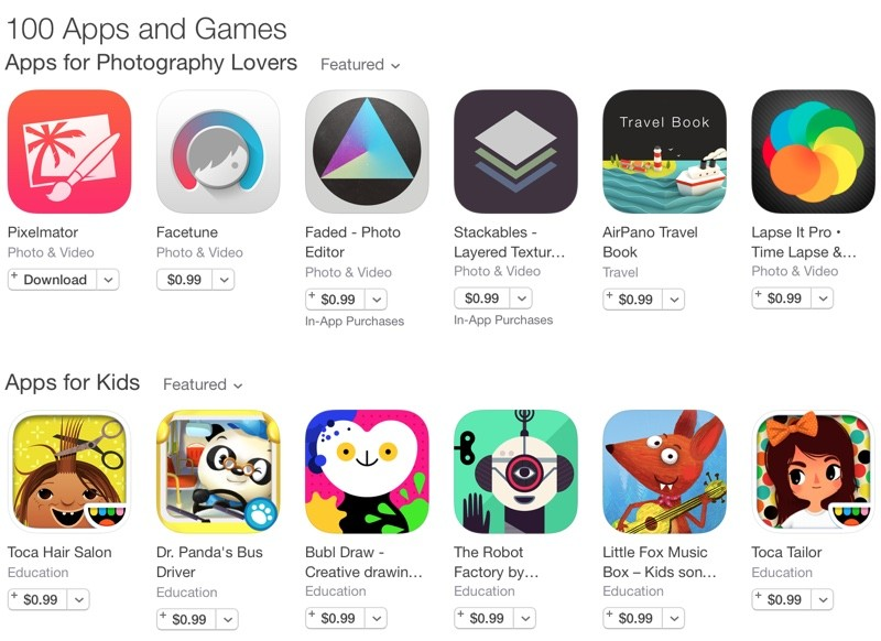 popular app store games
