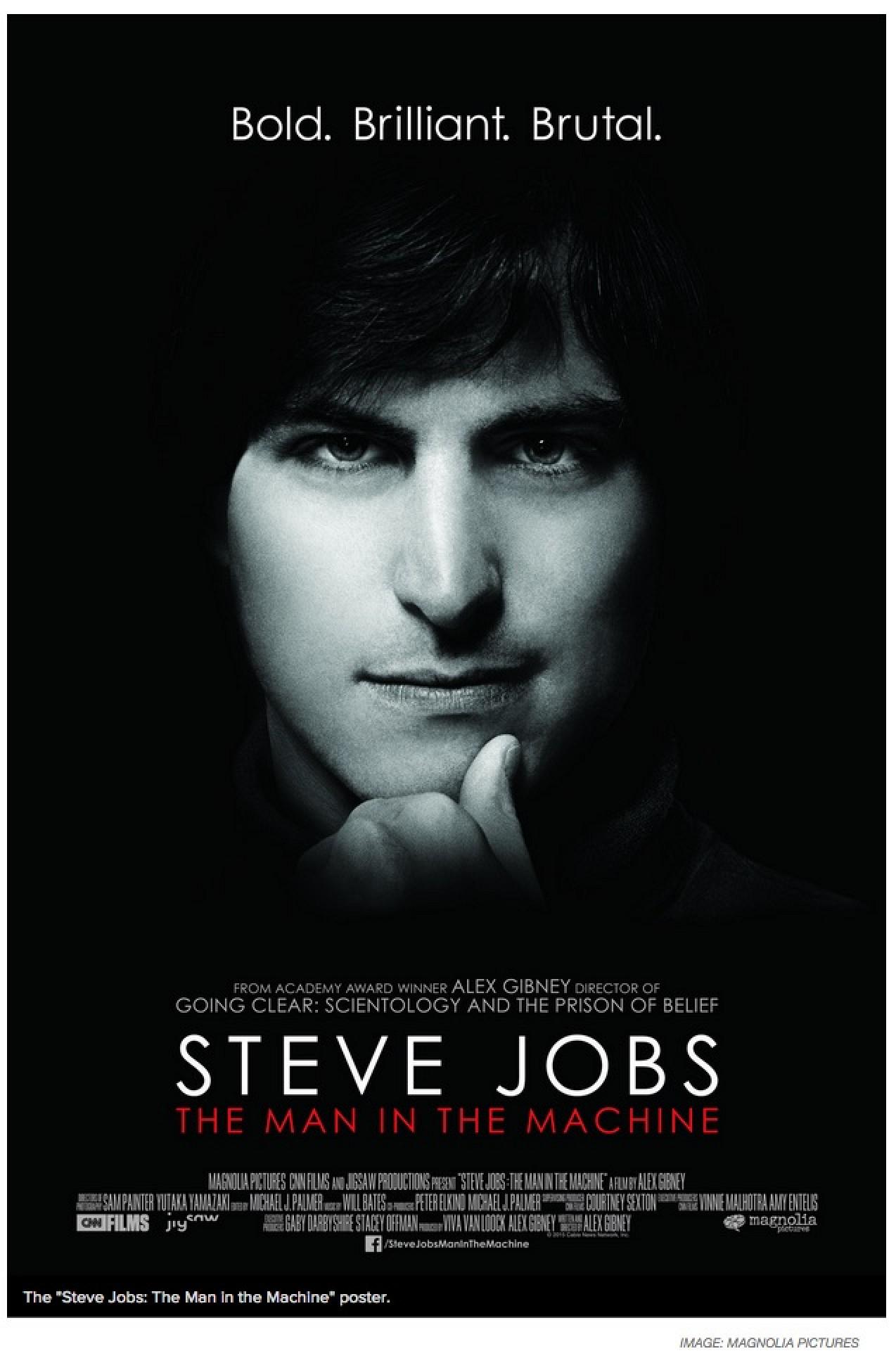 steve jobs poster First Trailer for 'Steve Jobs: The Man in the Machine' Documentary Released - Mac Rumors