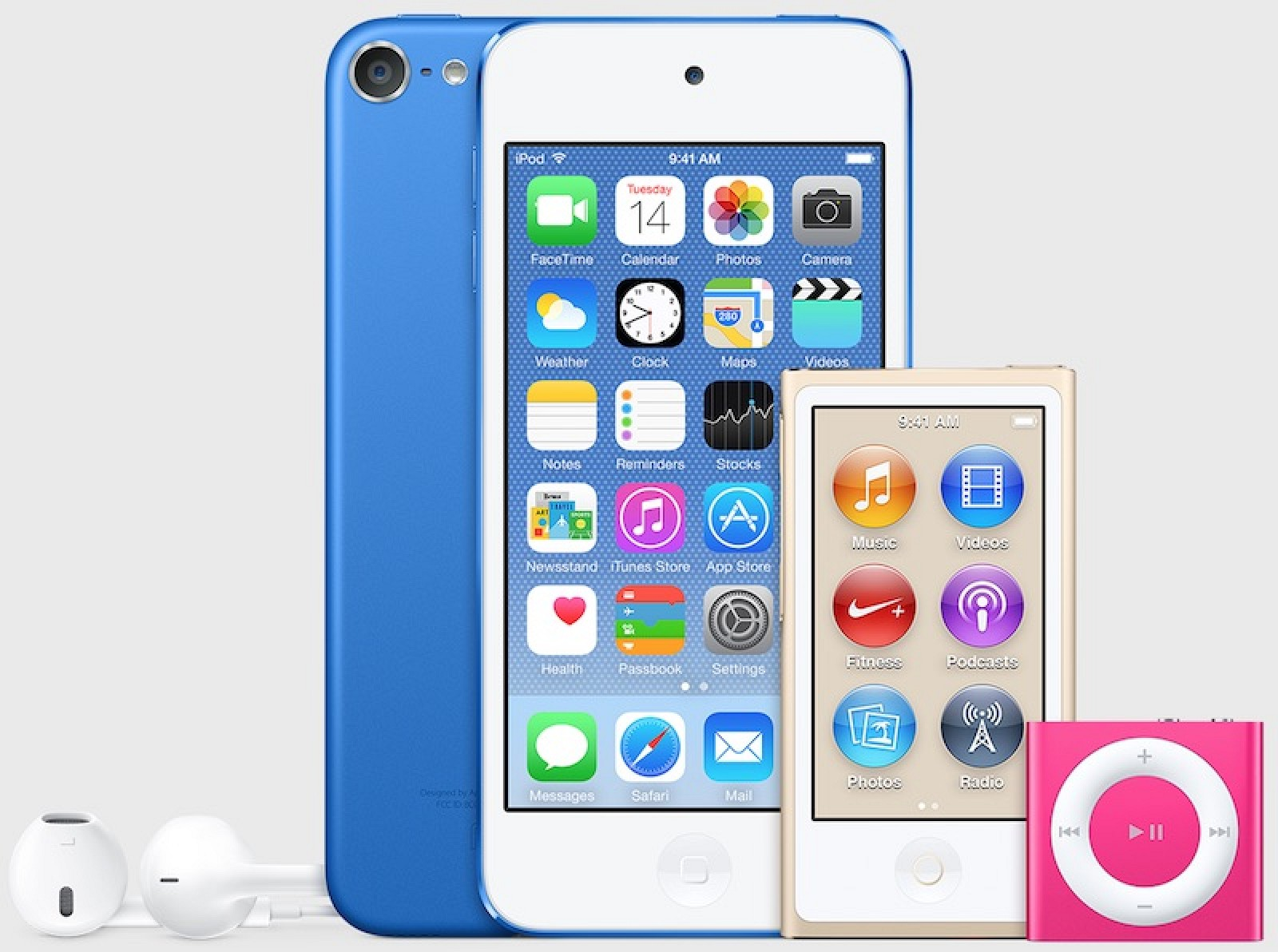 iPods in Unreleased Colors Spotted in iTunes 12.2 - Mac Rumors