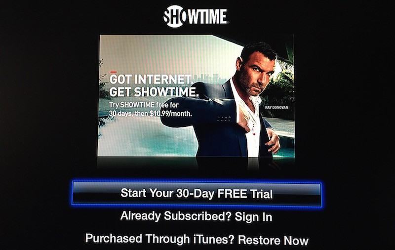 'Showtime' Launches on Apple