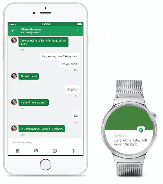 Android Wear je nyní kompatibilní s iPhony!