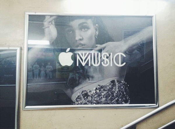 Apple Music bilbord - svetapple.sk