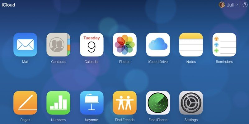how to recover files contacts bookmarks calendars and reminders in icloud