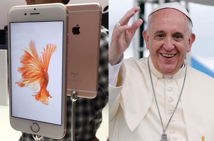 Pope-iPhone-6s