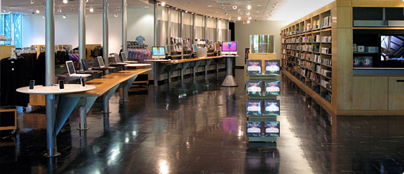 Apple 39 S Company Store At Infinite Loop Reopens On