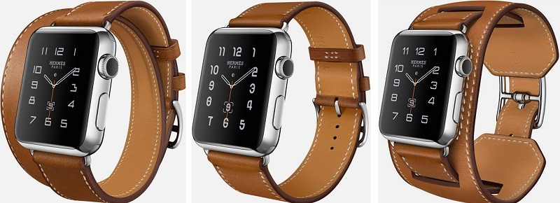 hermes leather watch bands