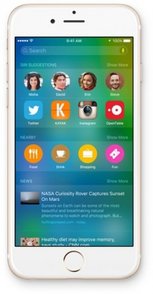 iOS 9 Now Supports Spotlight Suggestions in 7 More Countries