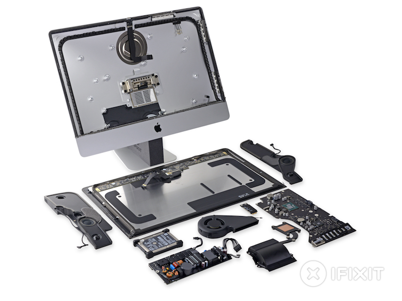 Ifixit Teardown Of New 21 5 Inch 4k Imac Reveals Dci P3