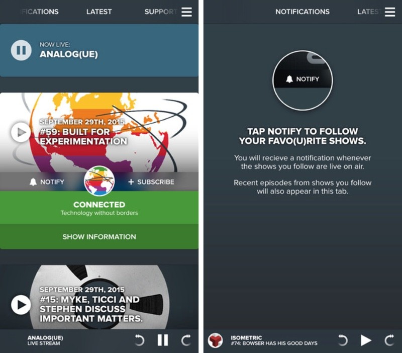 Relay FM Launches New iOS App, Overcast Goes Free and Adds Streaming Capabilities