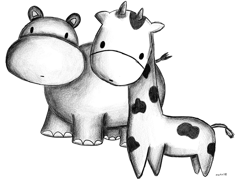 Hippo-Giraffe-Apple-Pencil
