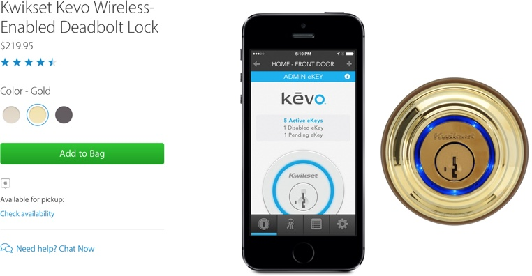 Apple Stops Selling Iphone Connected Smart Locks From