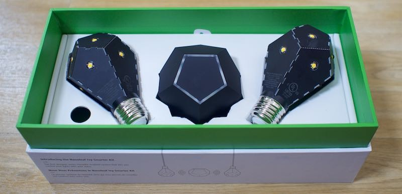 Review: The Nanoleaf Smarter Kit Features Smart HomeKit-Enabled Light Bulbs With a Unique Look