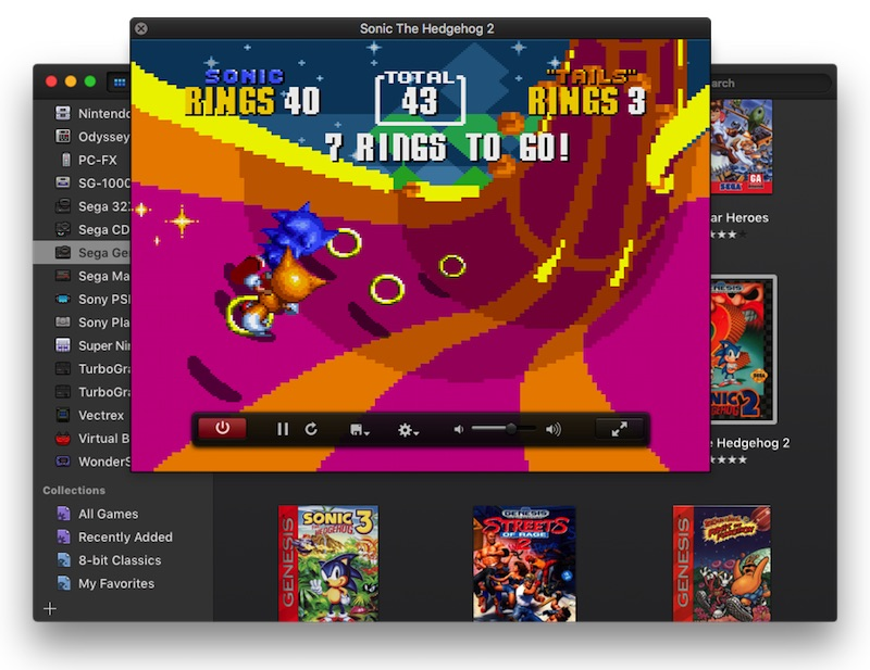 play classic games on mac os x