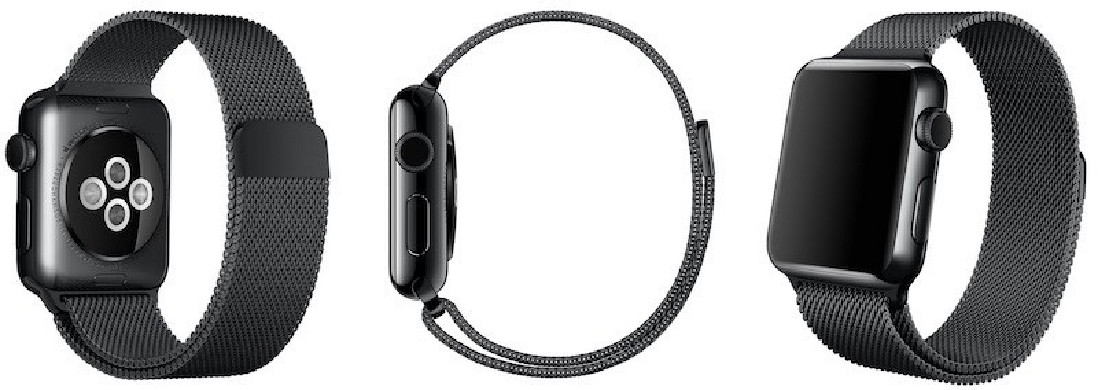 Space Black Milanese Loop Apple Watch Band Spotted on ...