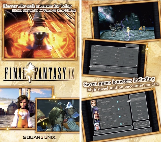 Square Enix's 'Final Fantasy IX' Launches on iOS App Store