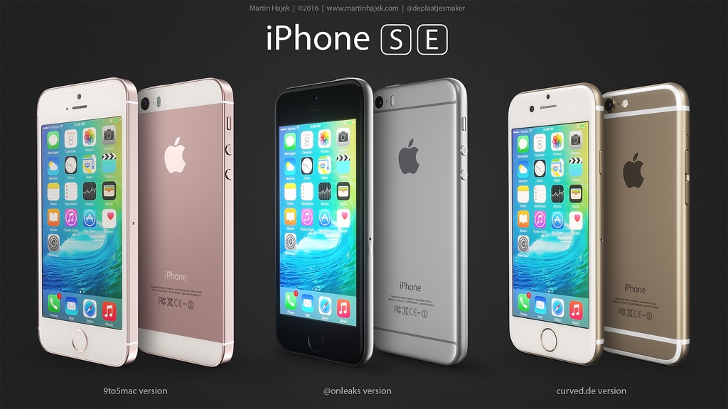 Three Possible 4-Inch iPhone SE Designs Compared