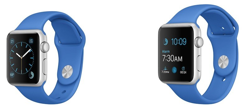 apple watch sport royal blue