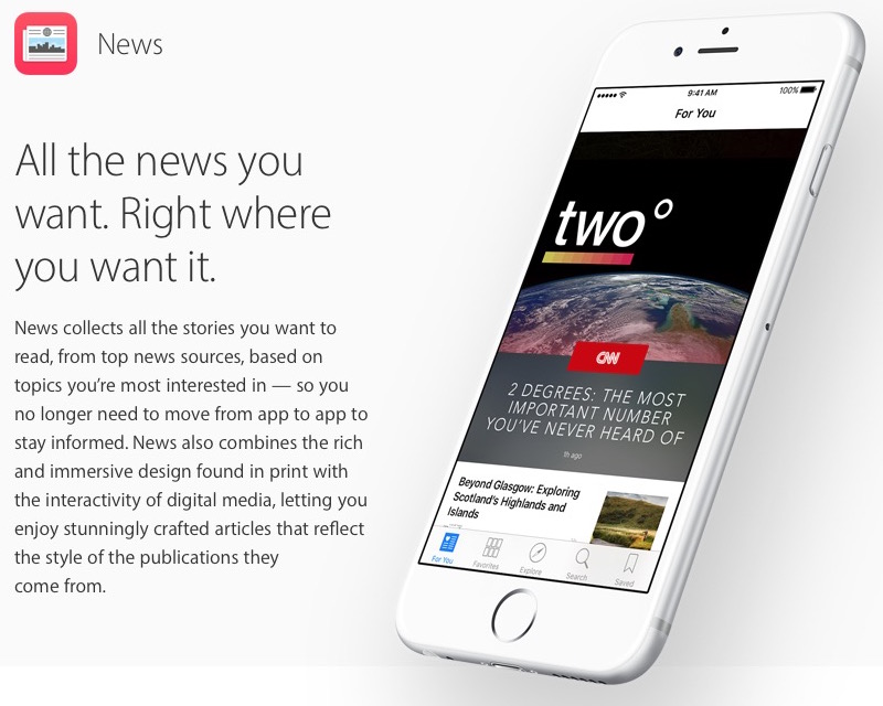 Apple News Format Expands to All Publishers for Richer ...
