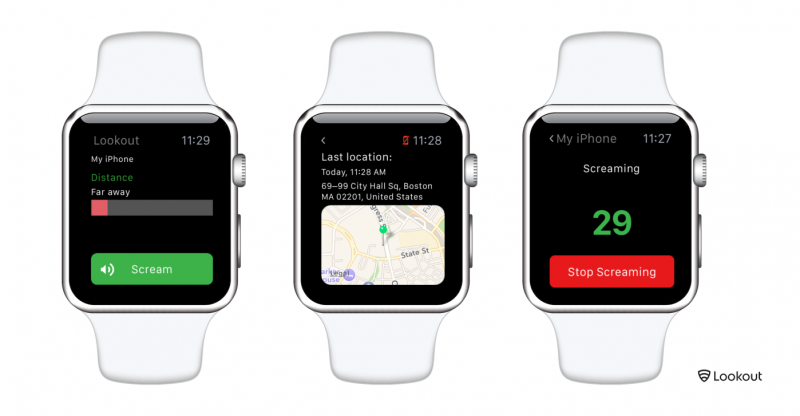 Lookout for Apple Watch