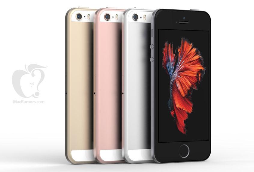 Takto bude vypadat iPhone SE podle MacRumors