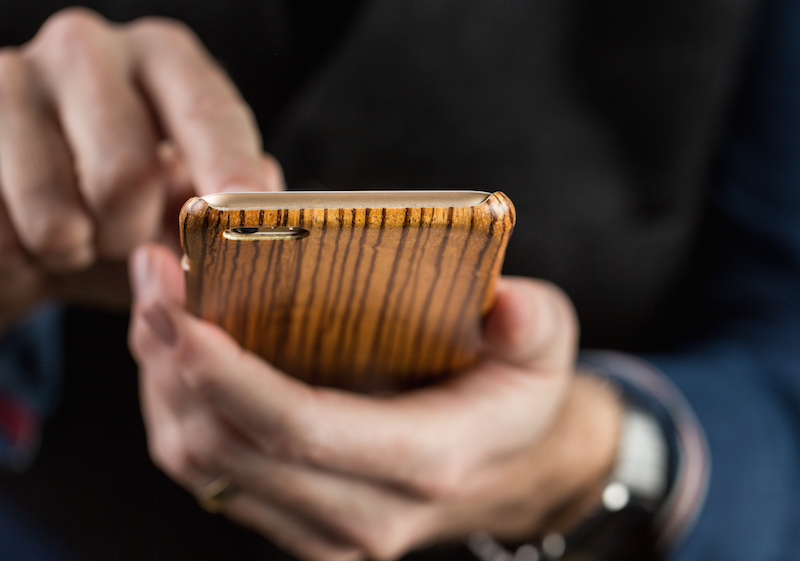 thin wood iphone case
