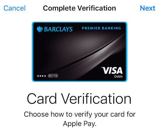 barclays finally supports apple pay in united kingdom mac rumors Apple iPod Adds Add iPod to iTunes Account