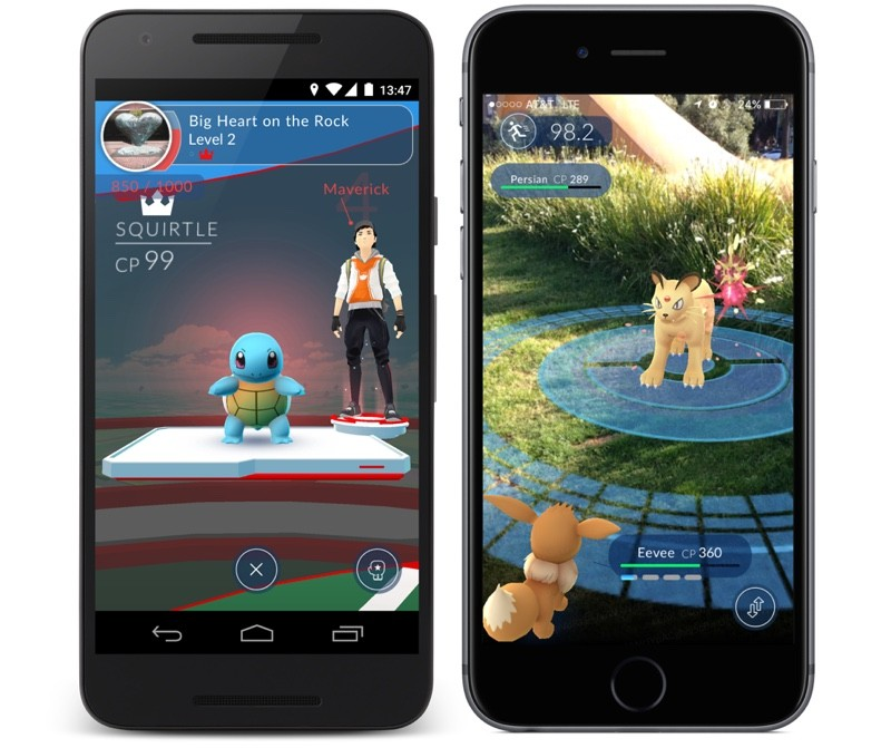 Pokémon GO, first announced last year , is being developed by Niantic ...: www.macrumors.com/2016/05/25/pokemon-go-us-beta-test-launches