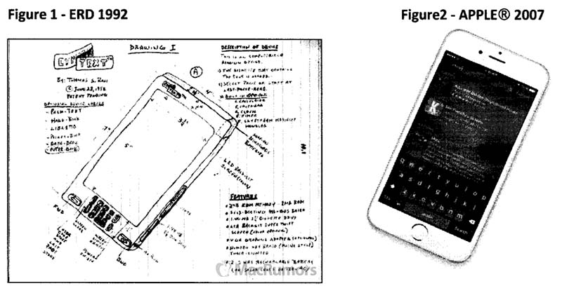 Florida Man Sues Apple for $10+ Billion, Says iOS Devices Copy His 1992 Drawings