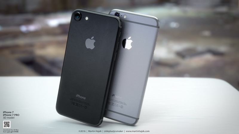 Dark Space Gray iPhone 7 Conceptualized in New Renderings ...