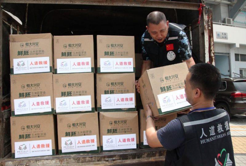 China flood efforts
