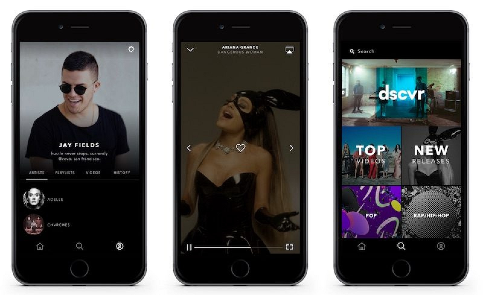 Vevo App Gets Redesign, Adds User Profiles and Curated ...