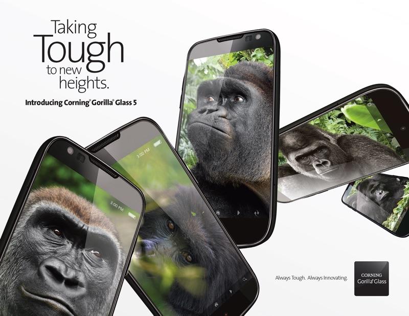 Corning představila Gorilla Glass 5 (Video)