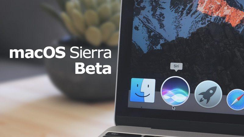 Apple vydal 7. betu macOS Sierra pro vývojáře a 6. betu pro veřejnost