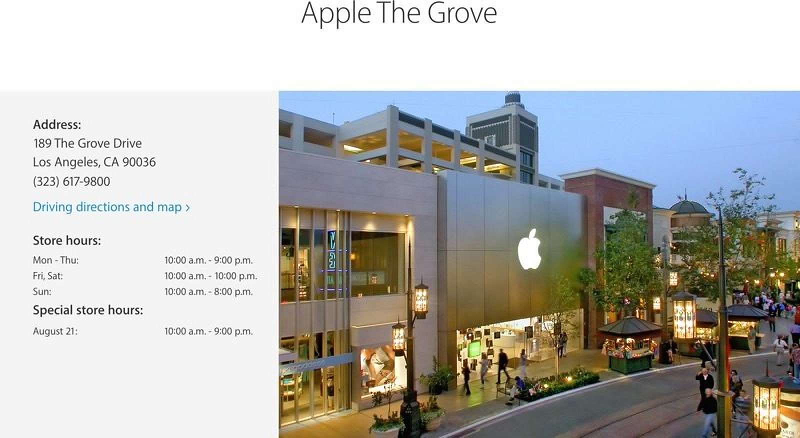Apple Drops 'Store' From Apple Store Branding