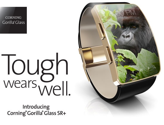 Gorilla Glass Comes To Wearable Market