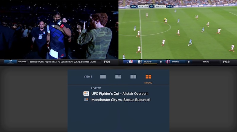 Fox sports go is available now as a free download on the tvos app