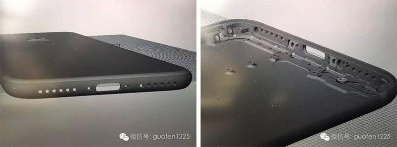 iPhone-7 haut-parleurs-grille-fermé-off