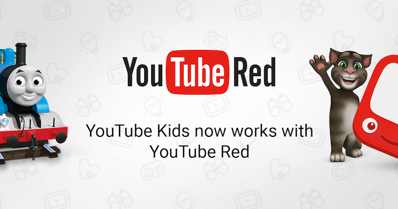 Youtube kids with youtube red
