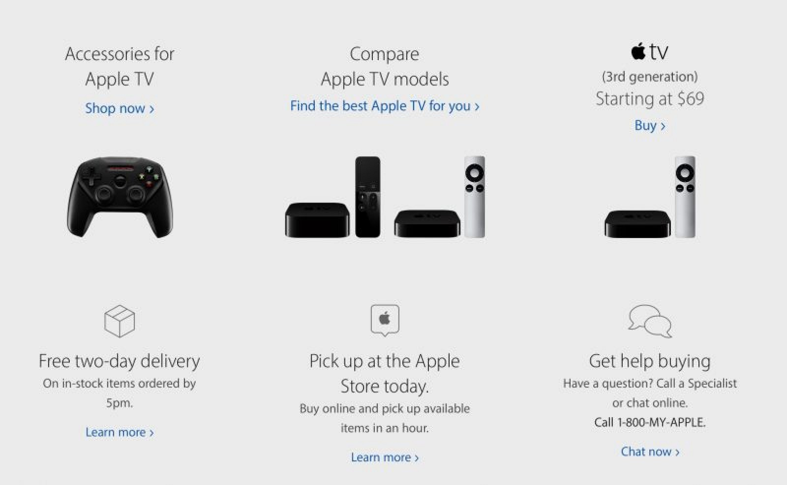 Apple Said to be Phasing Out Third-Generation Apple TV