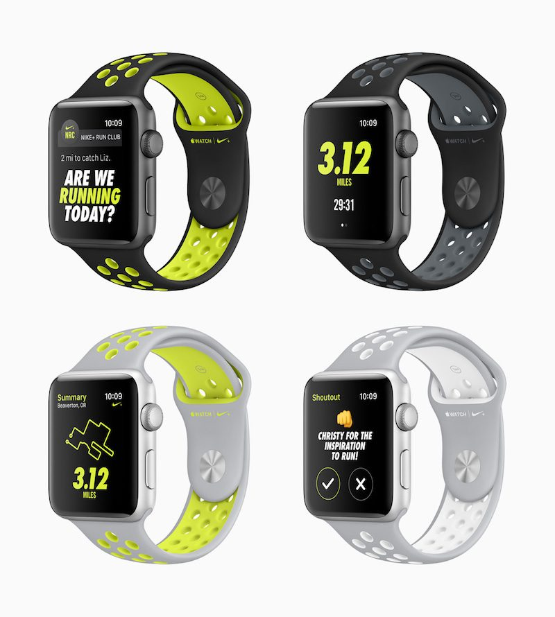 Apple and Nike Debut Apple Watch Nike+ Edition - Mac Rumors