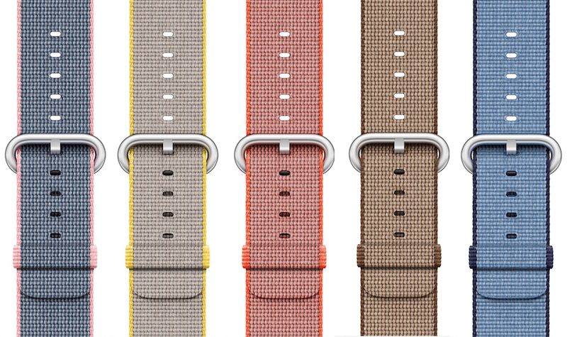 New Colors Launch For Apple Watch Sport Band Woven Nylon