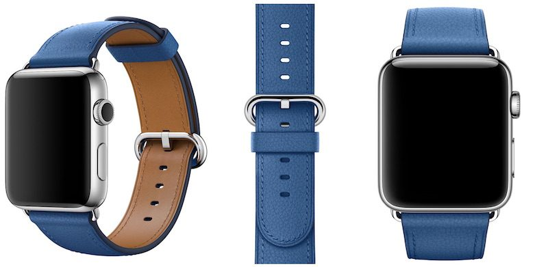 apple watch classic buckle blue