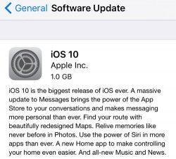 Apple říká, že problém s OTA aktualizací je vyřešen