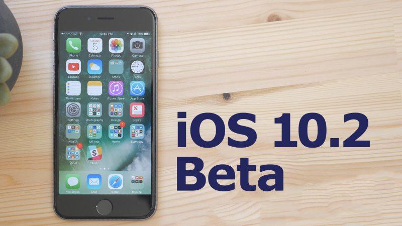 Apple vydal 7. betu iOS 10.2 pro vývojáře a testery mezi veřejností