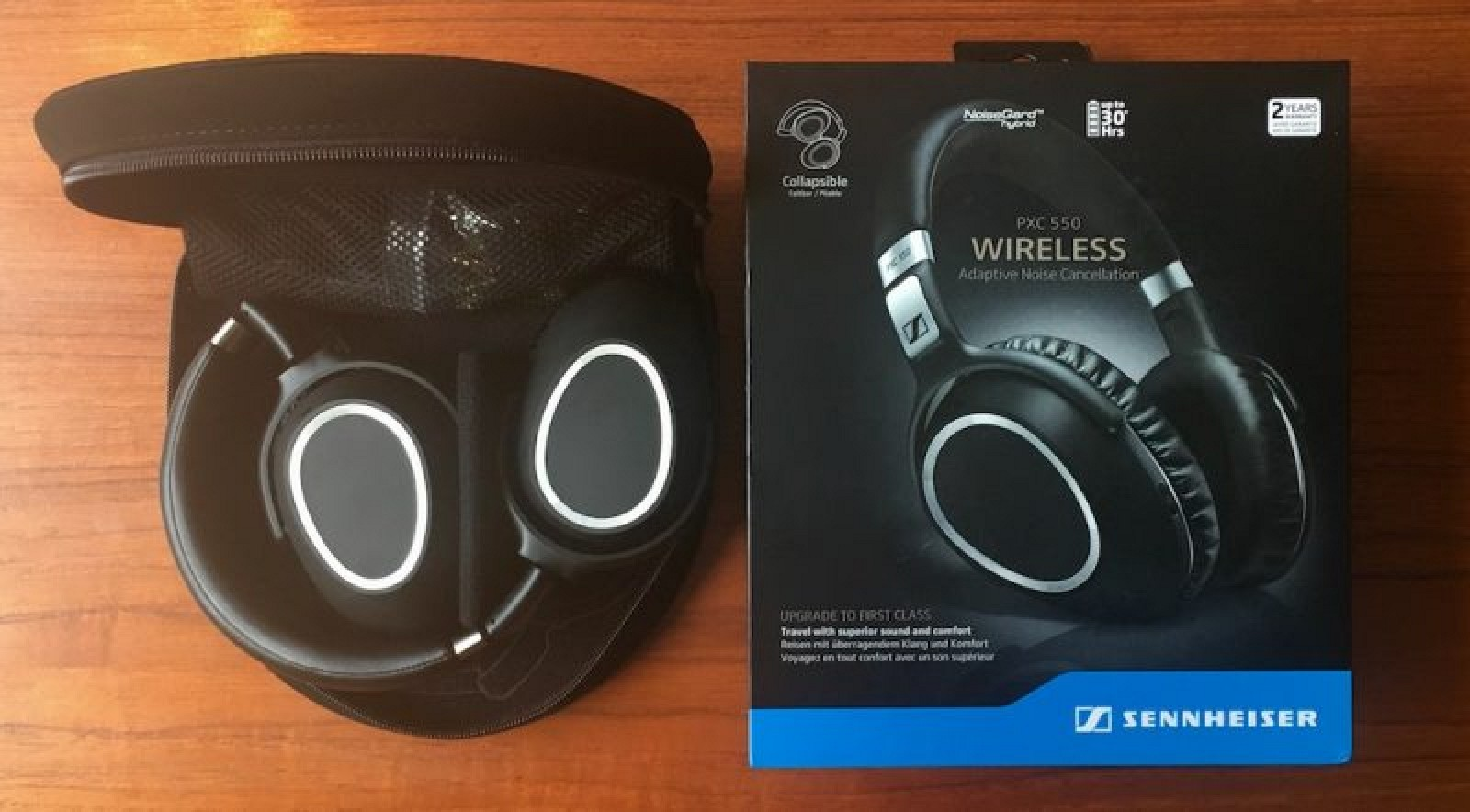 how to connect sennheiser wireless headphones to iphone