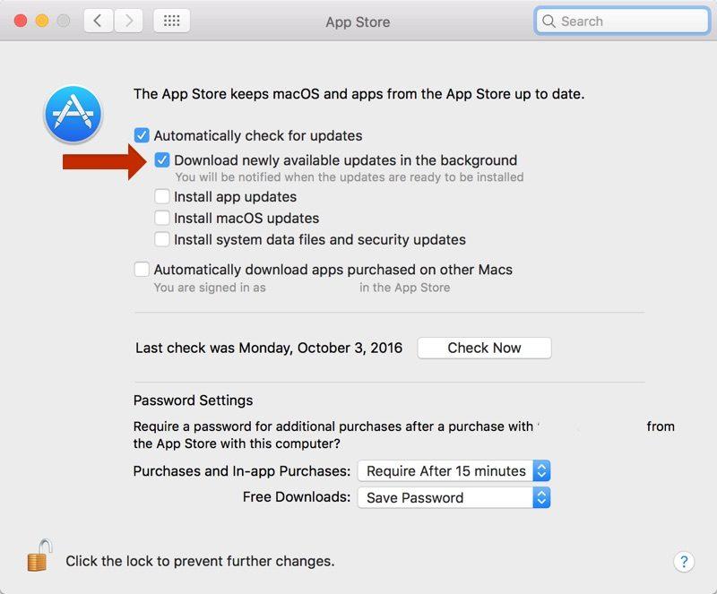Apple zavedl automatické stažení aktualizace na macOS Sierra. Kde ho vypnout?