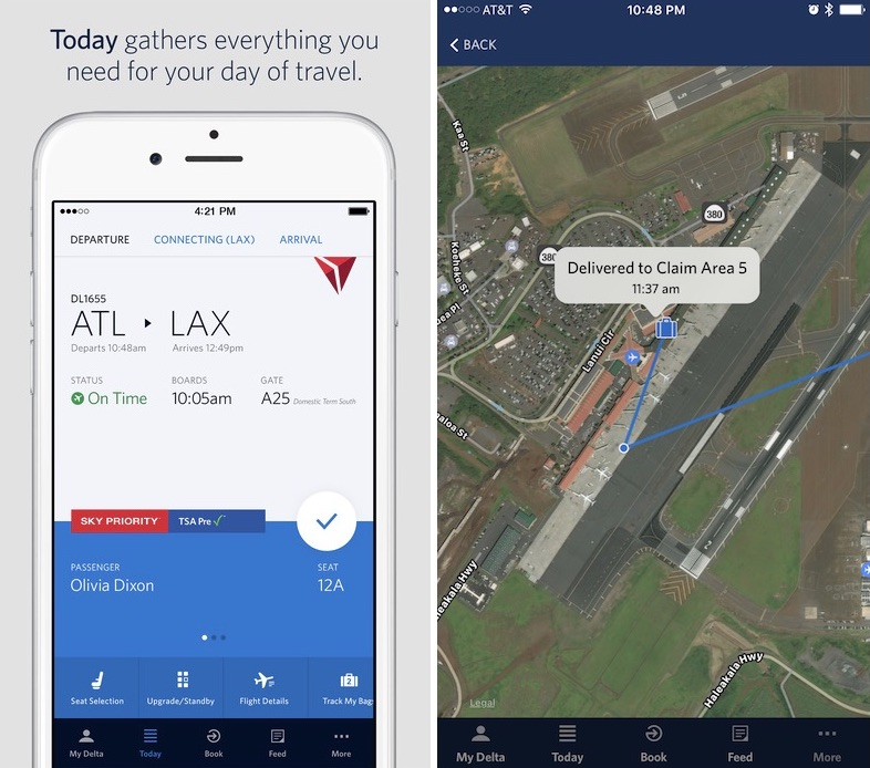 'Fly Delta' iOS App Update