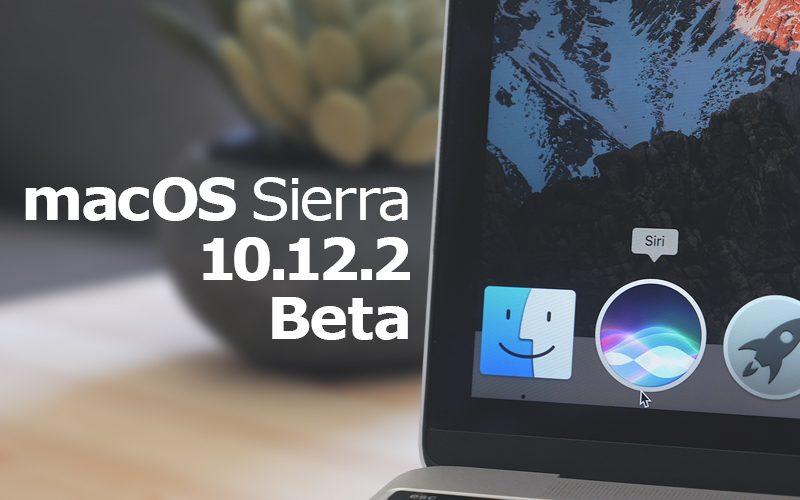 Apple vydal 6. betu macOS Sierra 10.12.2 pro vývojáře a testery mezi veřejností