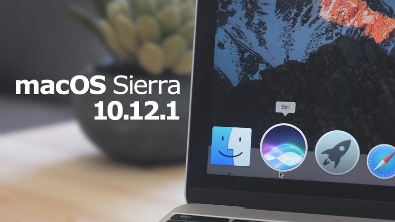 Apple vydal macOS Sierra 10.12.1